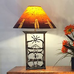 Custom Made Ceramic Lamp