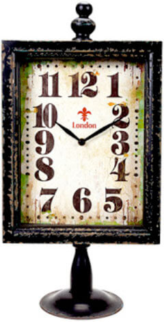 Custom Made Clock Décor
